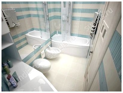 Дизайн ванной 3 кв.метра
